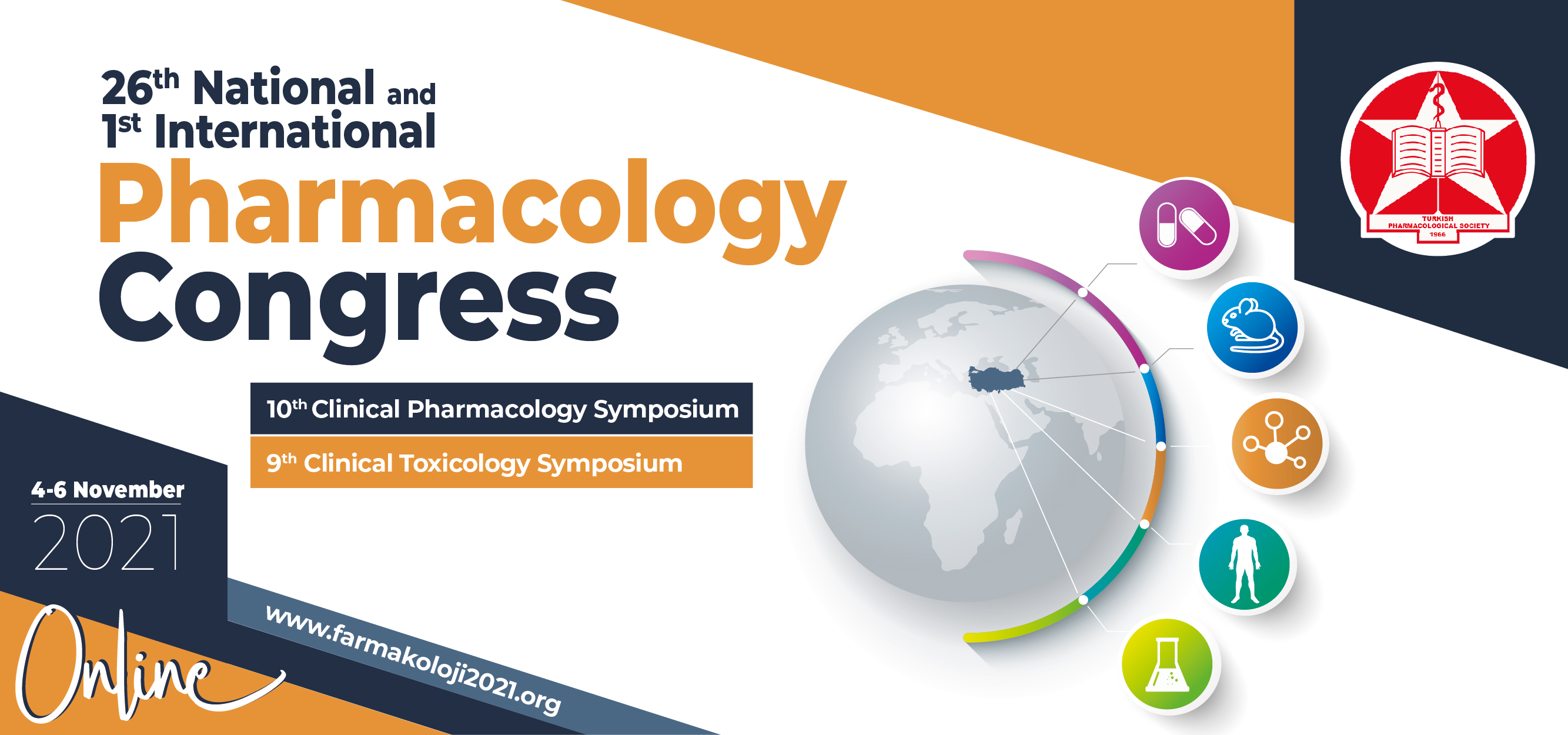 Announcement of the 26th National and 1st International Pharmacology Congress